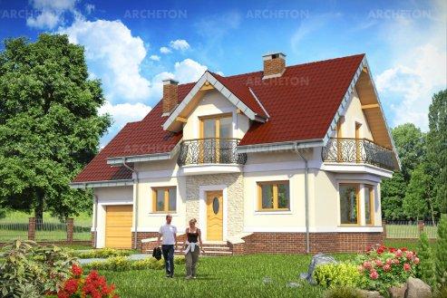 Проект дома Дарио Ас