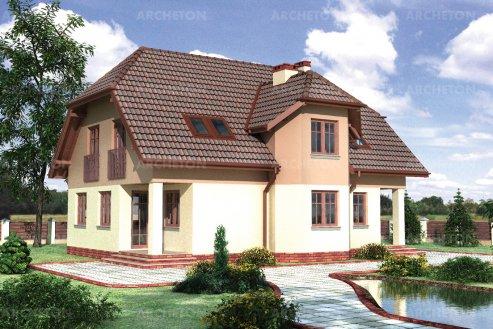 Проект дома Дубош