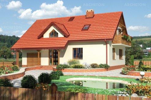 Проект дома Дельта