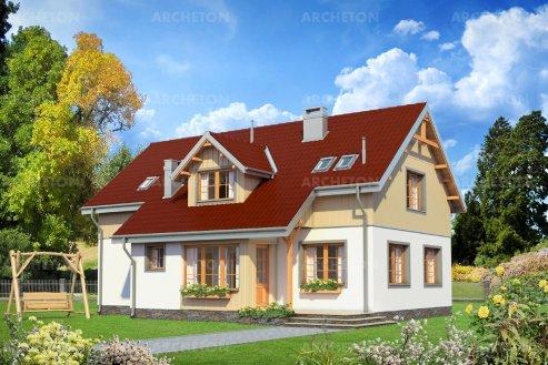 Проект дома Дергач