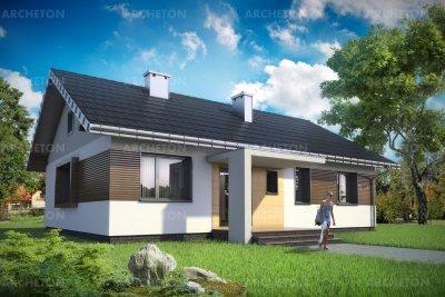 Проект дома Домино Рекс