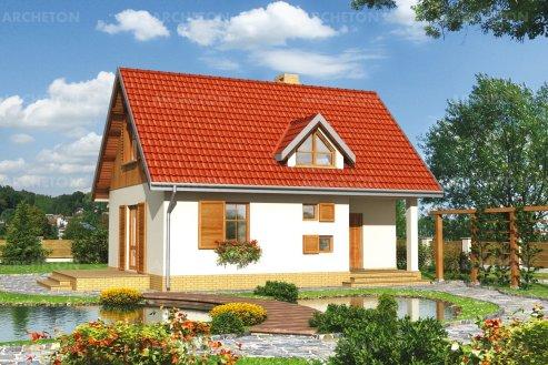 Проект дома Дробина