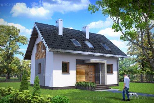Проект дома Дропс