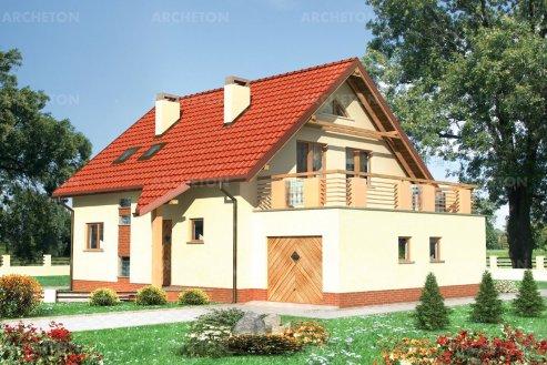 Проект дома Дрозд