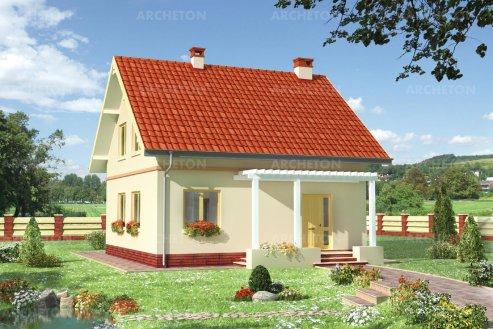 Проект дома Амбиция-2