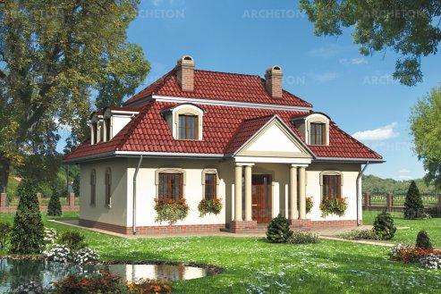 Проект дома Дятел