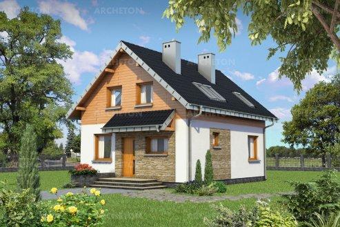 Проект дома Эклерка