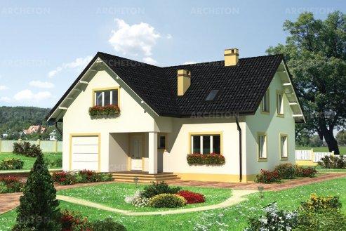 Проект дома Емельян