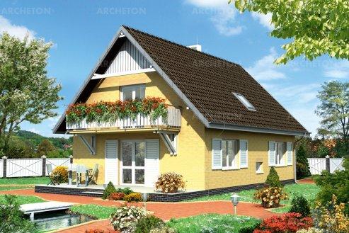 Проект дома Фикус
