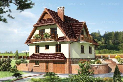 Проект дома Грань