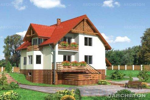 Проект дома Гранит