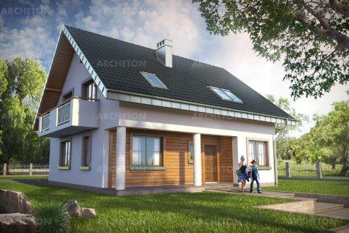 Проект дома Верба