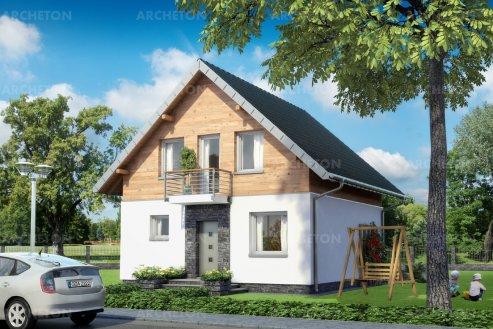 Проект дома Гуток