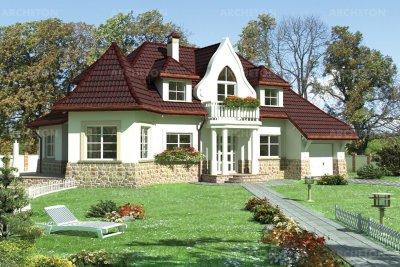 Проект дома Арфа