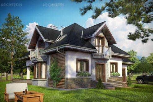 Проект дома Гектор