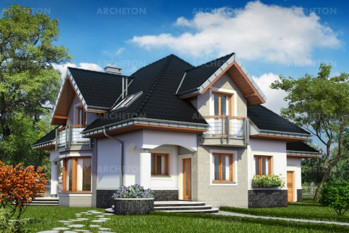 Проект дома Гектор Бас