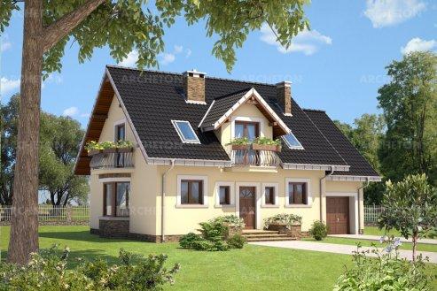 Проект дома Алёна