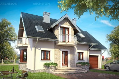 Проект дома Алёна Прима