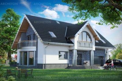 Проект дома Хельга