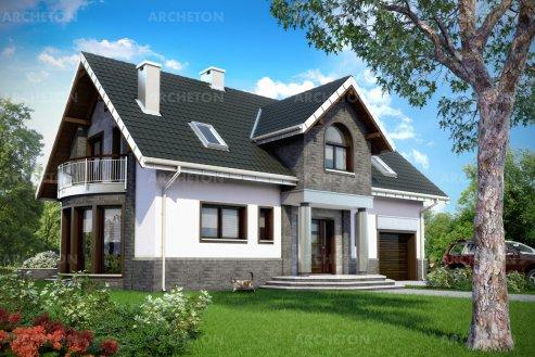 Проект дома Гелиаш