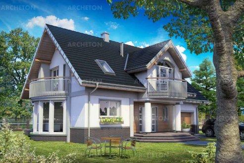 Проект дома Гелиодор Ас Г1