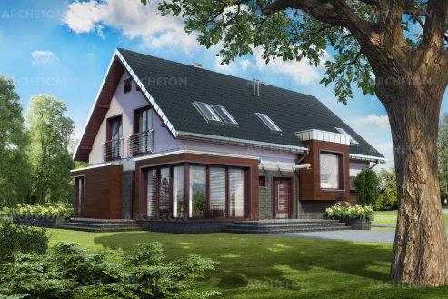 Проект дома Гелиос