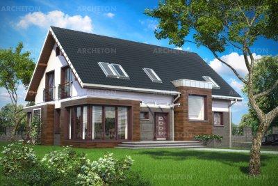 Проект дома Гелиос Сток