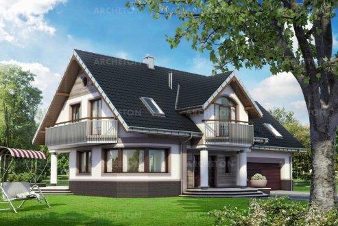 Проект дома Гелиотроп