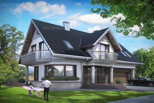 Проект дома Гелиотроп Макс