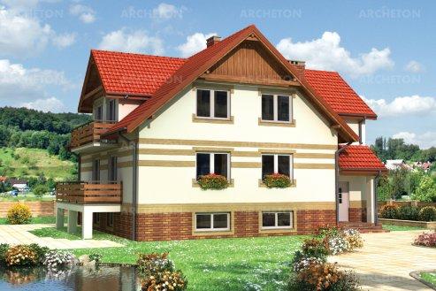 Проект дома Ирина