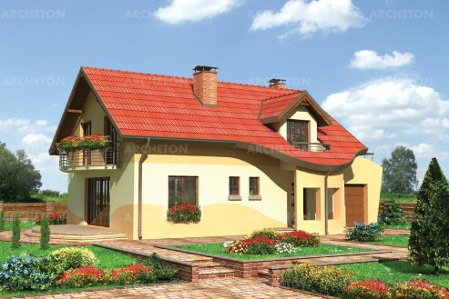 Проект дома Ирмина