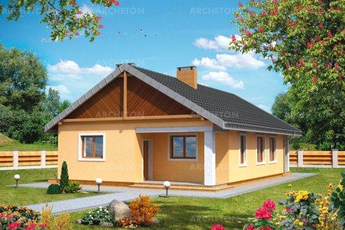 Проект дома Искорка
