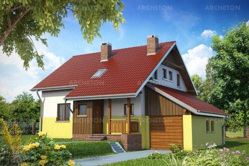 Проект дома Ива