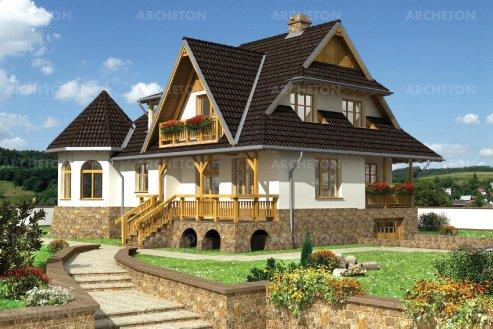 Проект дома Яблоня