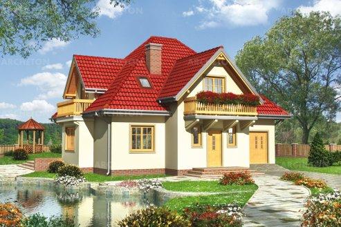 Проект дома Зяблик