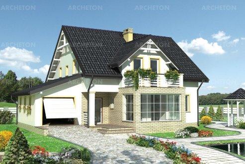 Проект дома Галка