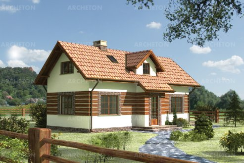 Проект дома Изумруд