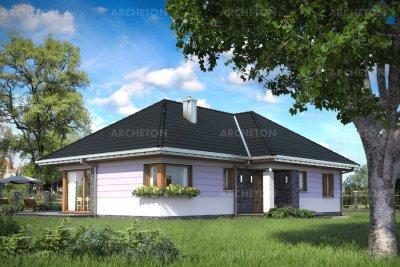 Проект дома Калина