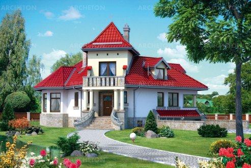Проект дома Каштель
