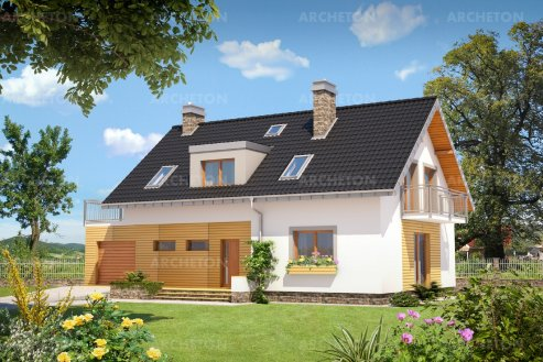 Проект дома Кобальт