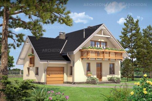 Проект дома Колиба - 2