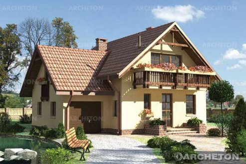 Проект дома Колиба
