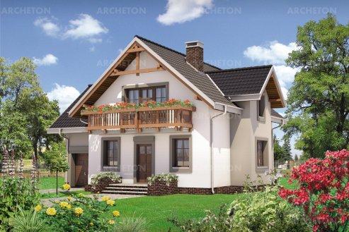 Проект дома Колиба Грота