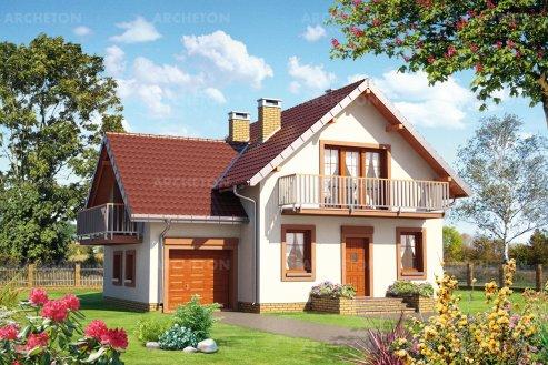 Проект дома Колиба Рекс