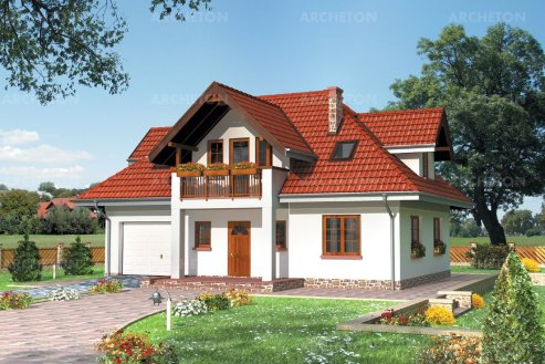 Проект дома Конрад
