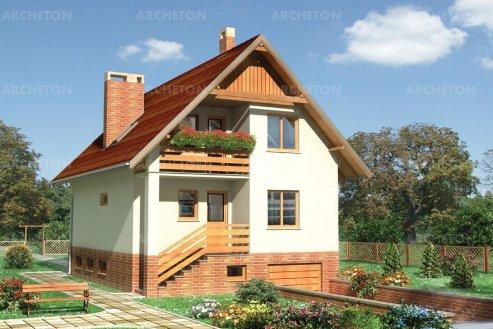Проект дома Коралик