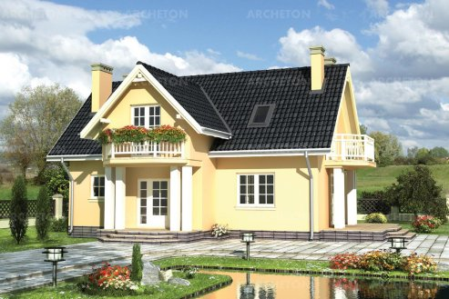 Проект дома Корнелия