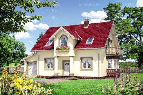 Проект дома Клавдий Люкс