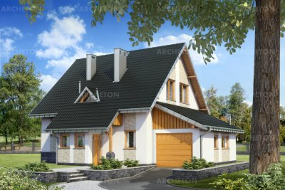 Проект дома Краб