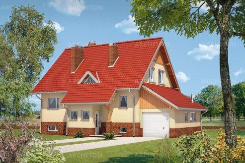 Проект дома Краб-3